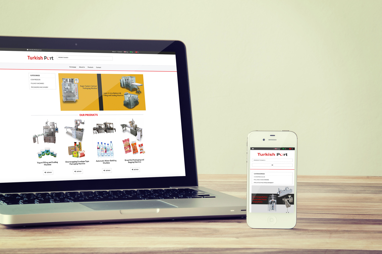 Turkish Port Web Tasarımı