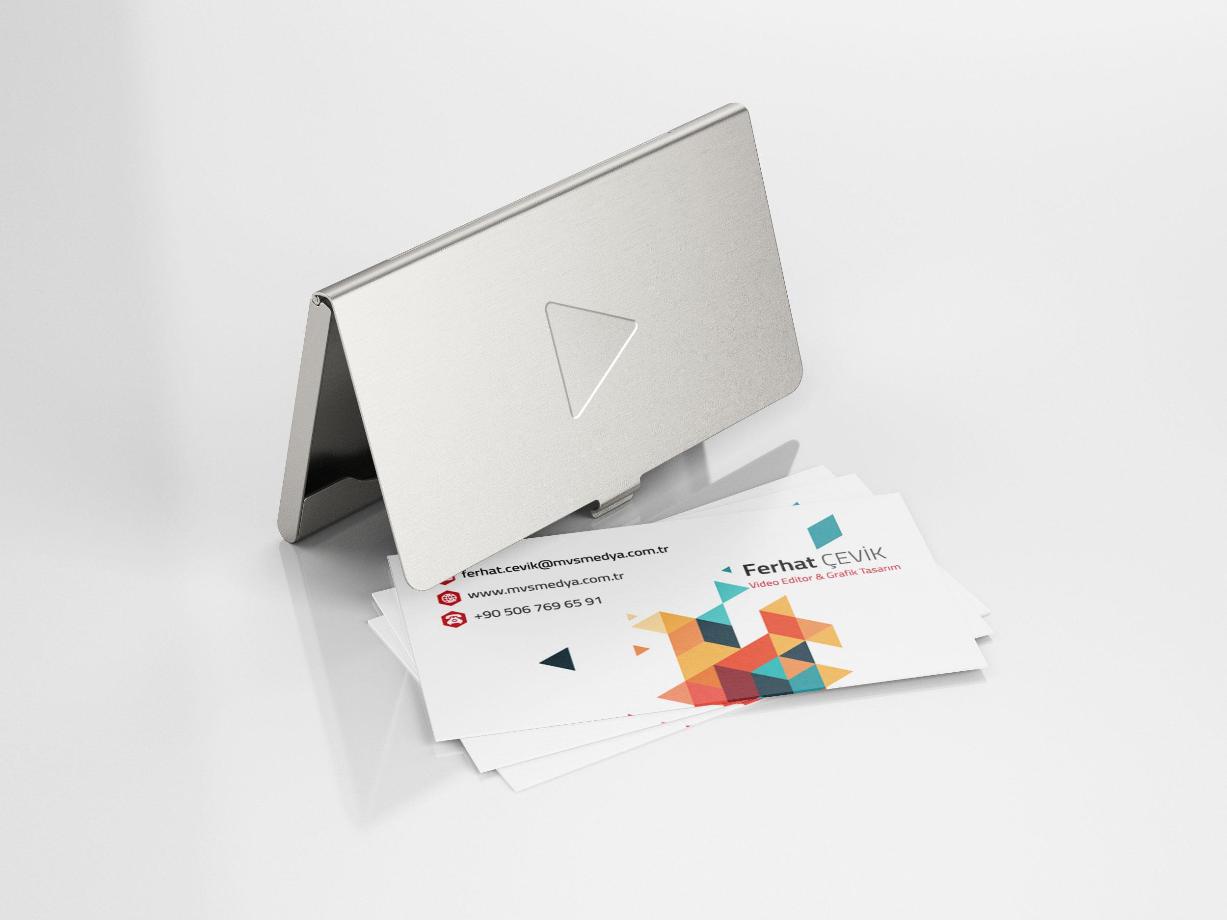MVS Medya Kartvizit Tasarımı