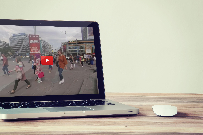 Kızılay Meydanı 360 Derece Video