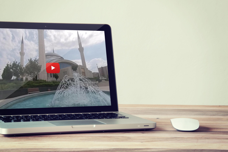 Ahmet Hamdi Akseki Camii 360 Derece Video