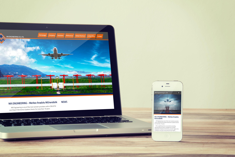 Merkez Anadolu Mühendislik Web Tasarımı